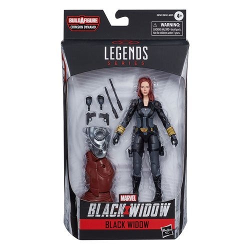 Black Widow Marvel Legends 6-Inch Black Widow Action Figure