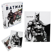 Batman A Visual History Hardcover Book