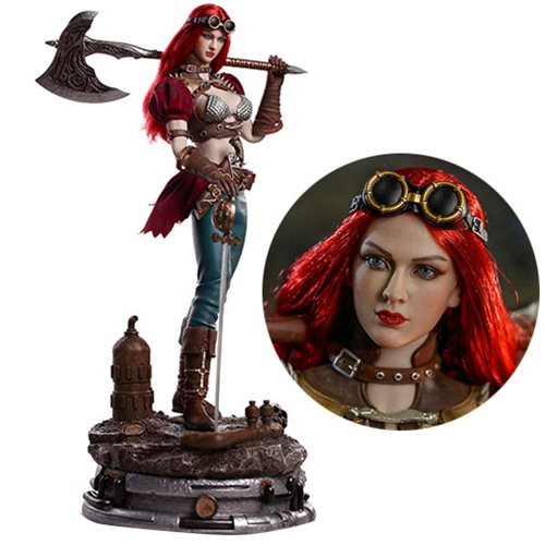 Steampunk Red Sonja 1:6 Scale Action Figure