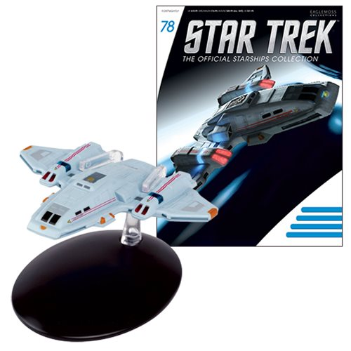 Star Trek Starships Voyager Aeroshuttle Die-Cast Vehicle with Collector Magazine #78