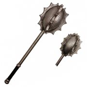 Hero's Edge Vulkor Silver Spiked Foam Mace