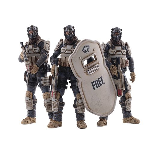 Joy Toy Free Truism 15th Moon Wolf Fleet 1:18 Scale Action Figure 3-Pack