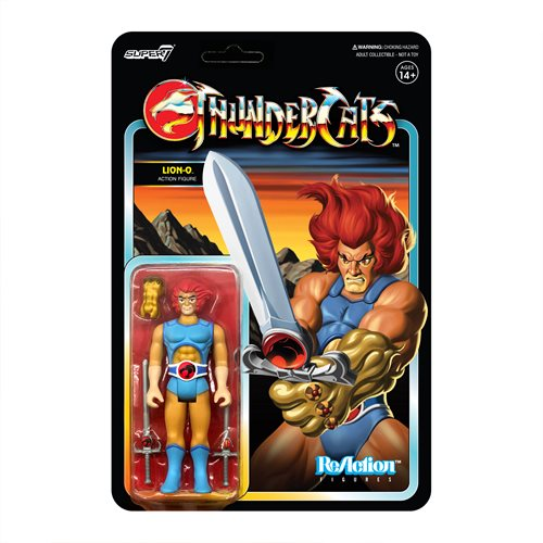 ThunderCats Lion-O 3 3/4-Inch ReAction Figure