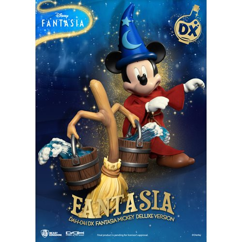 Disney Fantasia Mickey Mouse DAH-041 DX Dynamic 8-ction Deluxe Action Figure