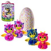 Hatchimals Surprise Pink and Yellow Electronic Plush