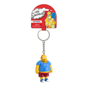 The Simpsons Comic Book Guy 3-D Mini-Figure Key Chain