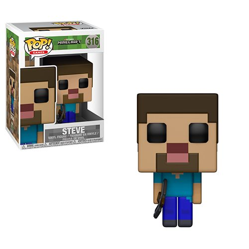 Minecraft Steve Pop! Vinyl Figure #316