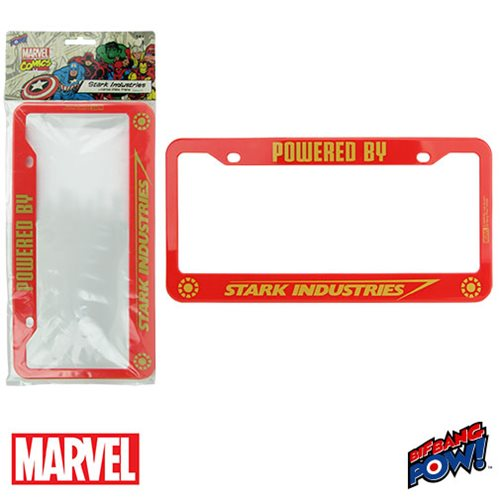 Stark Industries License Plate Frame