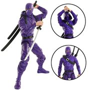Articulated Icons Purple Basic Ninja 6-Inch Action Figure