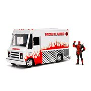 Hollywood Rides Deadpool Taco Truck 1:24 Scale Vehicle