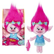 Trolls Poppy Talkin Troll Plush Doll