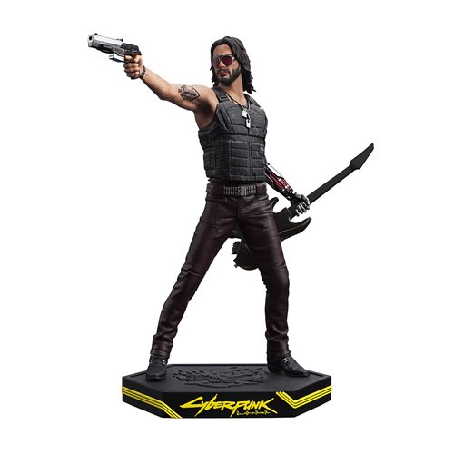 Cyberpunk 2077 Johnny Silverhand Figure