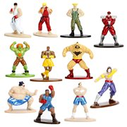 Street Fighter Nano Metalfigs Die-Cast Metal Mini-Figures Case