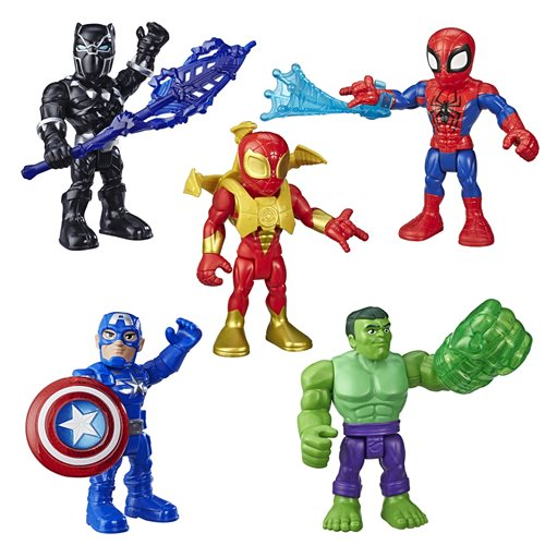 Marvel Super Hero Adventures 5-Inch Action Figures Wave 2