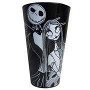 The Nightmare Before Christmas Jack and Sally 16 oz. Pint Glass