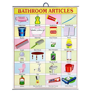 Bathroom Articles Hanging Banner