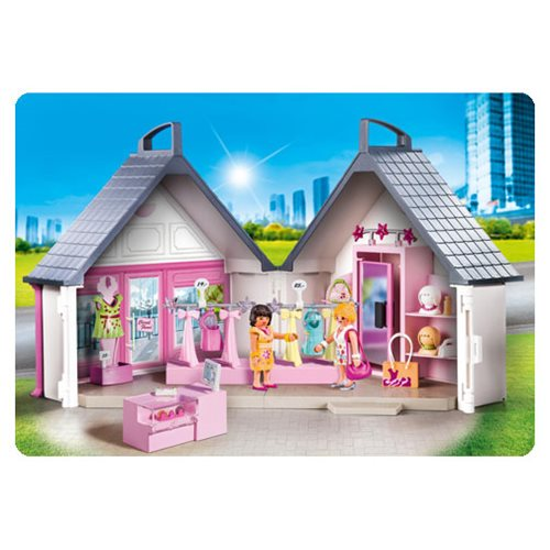 Playmobil 9113 Take Along Fashion Store