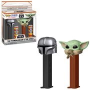 Star Wars: The Mandalorian The Child and Mandalorian Pop! Pez 2-Pack