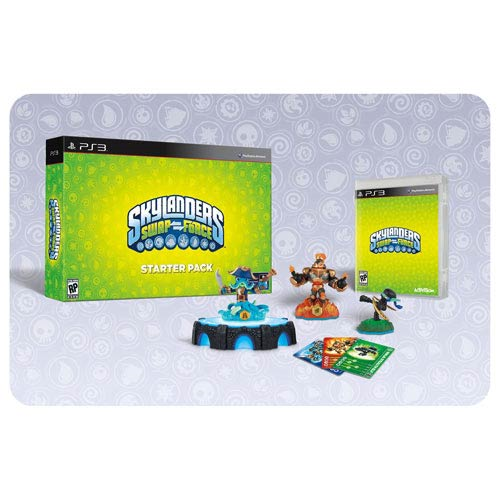 Skylanders Swap Force Sony PS3 Video Game Starter Pack with Promo Figure
