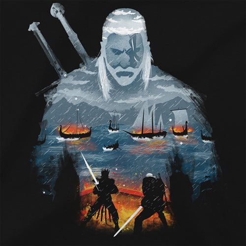 The Witcher 3 Geralt and Eredin Pemium T-Shirt