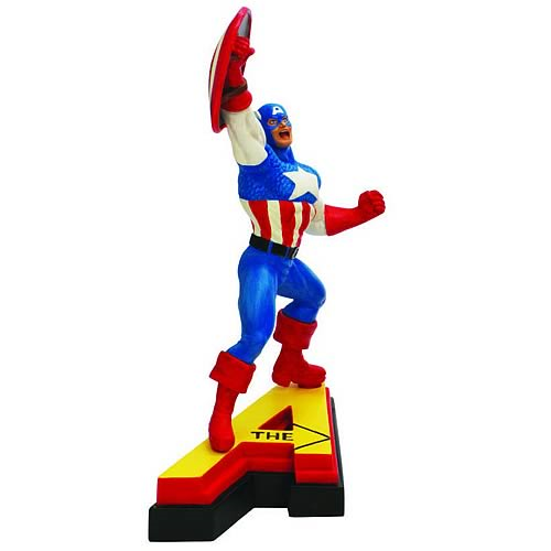 Avengers Edition Captain America Letter A Statue