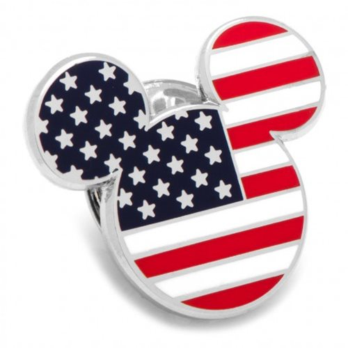 Mickey Mouse Stars and Stripes Lapel Pin