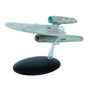 Star Trek Starships 2009 Movie USS Kelvin Die-Cast Vehicle with Magazine