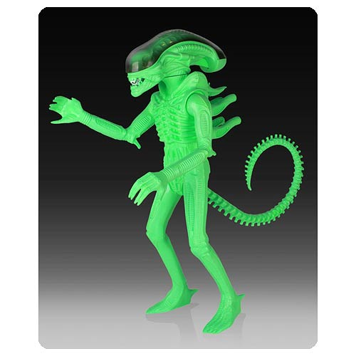 Alien Glow in the Dark Jumbo Kenner SDCC 2014 Exclusive Action Figure
