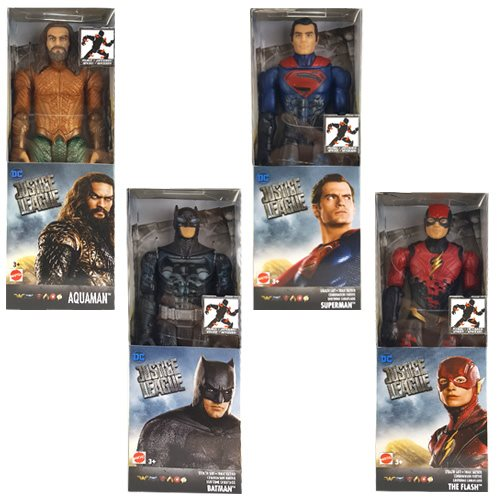 Justice League Movie Basic 12-Inch Wave 3 Action Figure Case