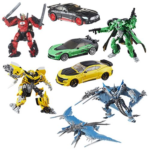 Transformers: The Last Knight Premier Deluxe Wave 3 Case