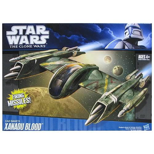 Star Wars Vehicles 2010 Cad Bane/'s Xanadu Blood Action Figure Vehicle