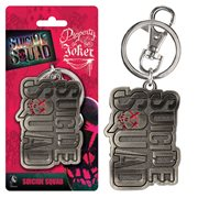 Suicide Squad Logo Pewter Key Chain