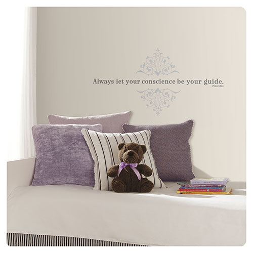 Pinocchio Always Let Your Conscience Be Your Guide Peel and Stick Wall Decal