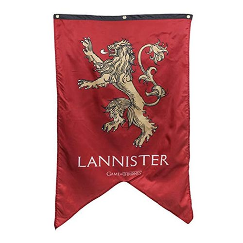 Game of Thrones Lannister Sigil Banner