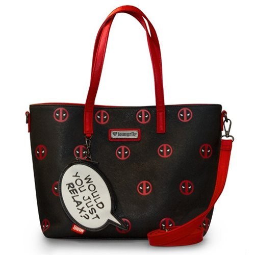 Deadpool Would You Just Relax Print Purse
