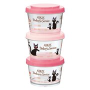 Kiki's Delivery Service Stylish Kiki's Town Plastic Container 3-Piece Set