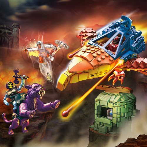 Mega Construx Masters of the Universe Panthor at Point Dread Playset