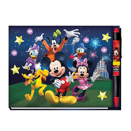 Mickey Mouse Gang Deluxe Autograph Book with Pen
