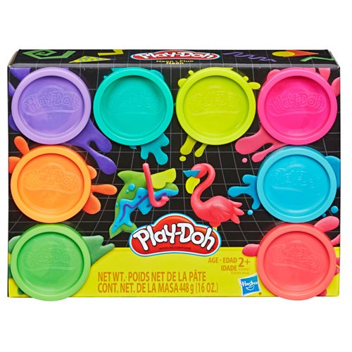 Play-Doh Neon 8-Pack
