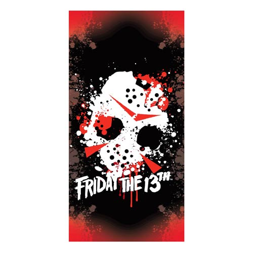 Friday the 13th Jason Mask Cotton Towel