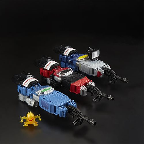 Transformers Generations War for Cybertron: Siege Deluxe Refraktor 3-Pack (G1 Toy Colors) - Exclusiv