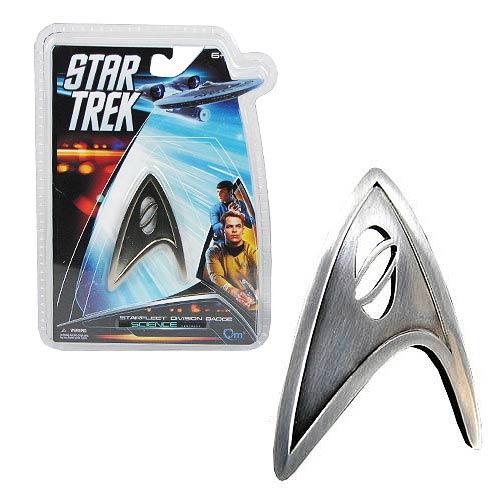 Star Trek Starfleet Science Division Pin Badge Replica