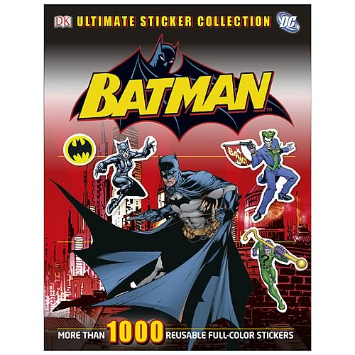 Batman Ultimate Sticker Collection Paperback Book