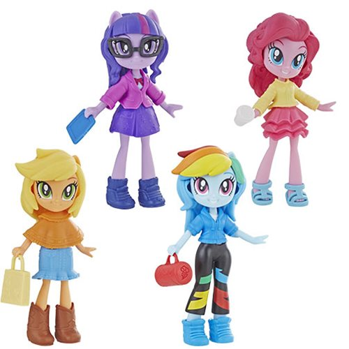 My Little Pony Equestria Girl Fashion Squad Mini Doll Wave 1