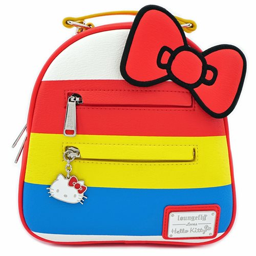 Hello Kitty Striped Mini Backpack