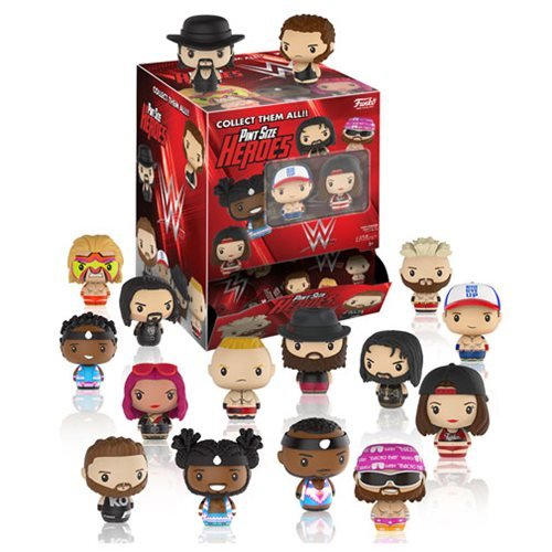 WWE Superstar Pint Size Heroes Mini-Figure Display Case