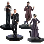 Doctor Who The Master Box Set #2 Modern Masters Figures Set of 4 with Collector Magazine