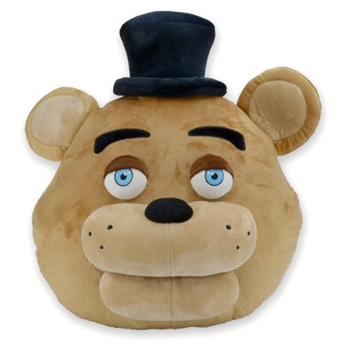 Five Nights at Freddy's Freddy Fazbear Head Pillow