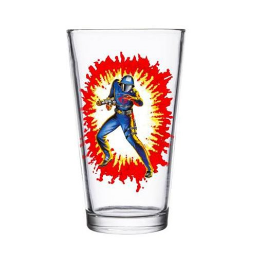 G.I. Joe Cobra Commander Pint Glass
