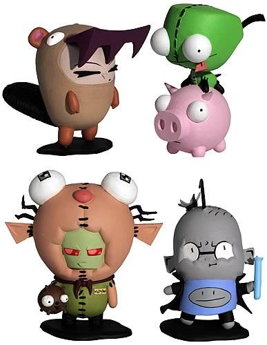 Invader ZIM Miniature Figurine Set of DOOM!